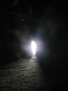 licht in de tunnel?